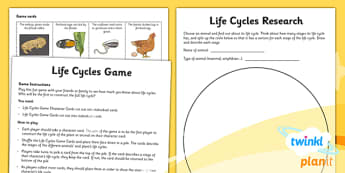 Science: Living Things and Their Habitats Year 5 Unit Home Learning Tasks