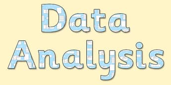 'Data Analysis' Display Lettering - data analysis lettering, data analysis, data analysis display, data lettering, data anyalysis themed lettering, ks2