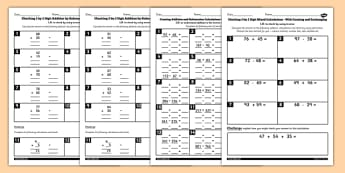 Year 3 Inverse Worksheets Pack - inverse, worksheets, pack, y3