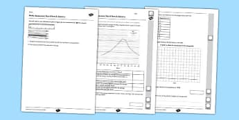 Year 6 Maths Assessment Term 3 Statistics -Key Stage 2, KS2, Maths, assessment, statistics, reasoning, handing data