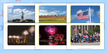 Independence Day Photo Pack - EYFS, Early Years, America, USA, celebration, 4th July