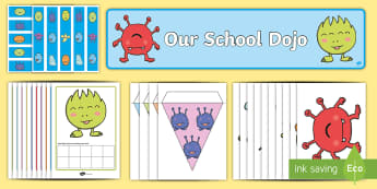 Our School Dojo Resource Pack - behaviour management, class management, points, rewards, homework rewards,