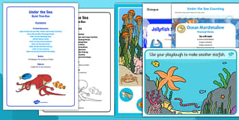 Under the Sea Quiet Time Box