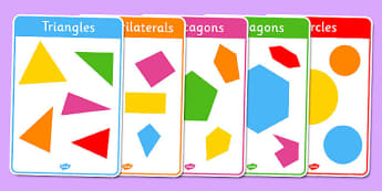 Regular and Irregular Shapes 2D Posters - regular, irregular, shapes, 2d, posters, display