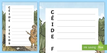 The Céide Fields Acrostic Poem - ROI - The World Around Us - The Ceide Fields stone age, neolithic, farmers, stone, mayo, history, si