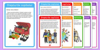 Drepturile Copilului, - Planșe