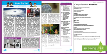 September 2017 News For You - news for you, classroom newspaper, class news, kids newspaper, news report, school newspaper, curren