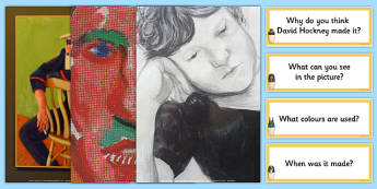David Hockney Photopack and Prompt Questions - photopack, prompt