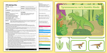 EYFS Down at the Dinosaur Swamp Adult Input Plan and Resource Pack