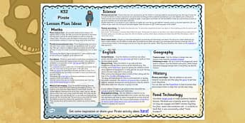 Pirate Lesson Plan Ideas KS2 - pirate, lesson plan, idea, KS2