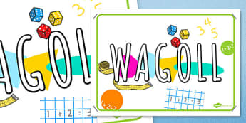 WAGOLL Display Poster - wagol, display poster, display, poster