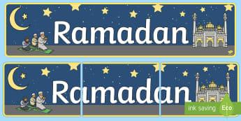 Ramadan Banner - islam, religie, ramadan, română, musulmani, musulman, sărbători religioase, religiile lumii,rom