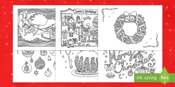 More Christmas Mindfulness Colouring