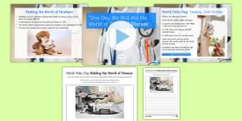 'One Day We Will Rid the World of Disease.' Debate Activity Pack - form period, discussion, ks3, disease, malaria, polio, charity, smallpox, economy,
