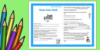 Noua mea clasă - Poveste socioterapeutică