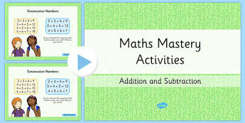 Year 2 Maths Mastery Add and Subtract Numbers PowerPoint - australia, Year 2 Maths Mastery, deeper thinking, deeper learning, add, addition, plus, total, subtract, subtraction, take-away, minus, left, equals, find, justify, reason, think, predict, se
