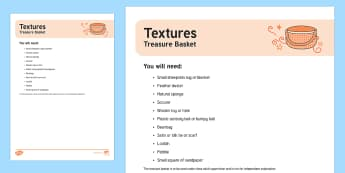 Textures Treasure Basket Ideas - heuristic, loose parts, toddler exploration, natural materials, textures, soft, hard, smooth, silky,