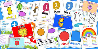 KS1 Maths Display Pack - KS1, key stage one, maths, numeracy