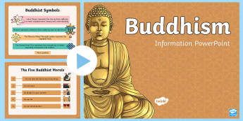 KS2 Buddhism Activity PowerPoint - Buddhist, Buddha, RE, information, activities