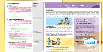 PlanIt - History LKS2 - Crime and Punishment Planning Overview
