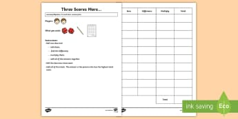 Three Scores More   Maths Game - Maths Games, addition game, multiplication game, known facts, number reasoning, problem solving