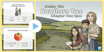 Chapter One Quiz PowerPoint to Support Teaching on Under the Hawthorn Tree - ROI - Resources to Support The Teaching Of Under the Hawthorn Tree, Under the Hawthorn Tree, Third C