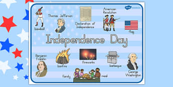 Independence Day Word Mat - independence day, word mat, mat