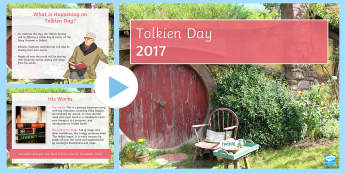 Tolkien Day PowerPoint - Tolkien Day, Tolkien, Lord of the Rings, The Hobbit