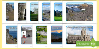 Tourist Attractions in Ireland Photo Pack - ROI - The World Around UsWAU, Irish