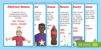 Types of Nouns Display Poster - Types of Nouns Display Poster (Large) - nouns, nouns poster, types of nouns poster, different nouns