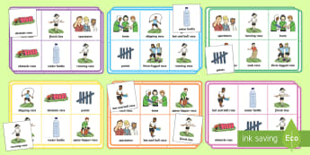 Sports Day Themed Bingo - sports day, bingo ,sports, summer, ks1, eyfs,