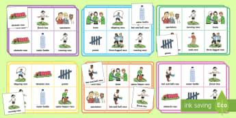 Sports Day Themed Bingo - sports day, bingo ,sports, summer, ks1, eyfs,