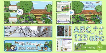 KS1 Bird Watch Resource Pack - KS1 & 2 RSPB Big School's Birdwatch (3 Jan-17 Feb 2017), RSPB, school, bird, bird watch,Australia