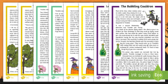 Halloween Differentiated Reading Comprehension Activity Pack English/French - Halloween, October, festival, autumn, celebration, spooky, ghosts, witch, zombies,cat, cauldron, hau