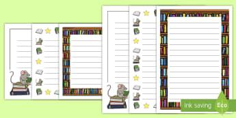 Cărțile copiilor Cadre de scris  - scriere, lectură, pagini de scrie, română, recenzie,Australia