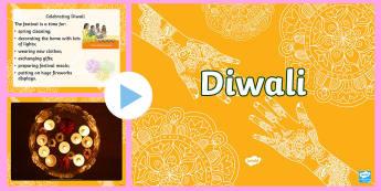 Diwali PowerPoint - Diwali, Powerpoint, celebrations, India, Hinduism