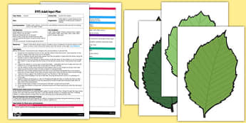 Felt Autumn Leaves EYFS Adult Input Plan and Resource Pack - activity
