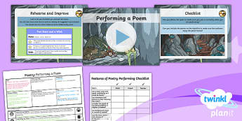 PlanIt Y5 Animals: Jabberwocky Lesson Pack Poetry (4)