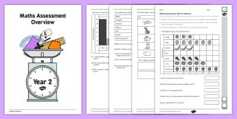 Year 2 Maths Assessment: Statistics Term 1 - assessments, math, assess, year 2, statistics, term 1