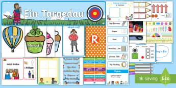 Back to School Display Pack Welsh - arddangos, classroom, set up, wales, banner, labels,Welsh-translation