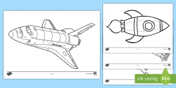 Rockets Colouring Pages - Home Education Lapbooks, Saturn V, V2, Neil Armstrong, Rockets Lapbook
