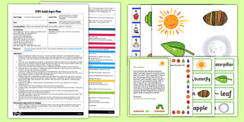 List Writing Activity EYFS Adult Input Plan and Resource Pack to Support Teaching on The Very Hungry Caterpillar - EYFS, Early Years planning, adult led, butterfly, minibeasts, Eric Carle, Literacy