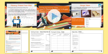 Manufacturing Processes - Joining and Forming Timber: L5 Planning for Making Lesson Pack - Key Stage 4, Design & technology, process, GCSE, project, iterative, timber, wood, manufacturing, ma