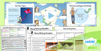 D&T: Let's Go Fly a Kite: Key Events and Individuals LKS2 Lesson Pack 1