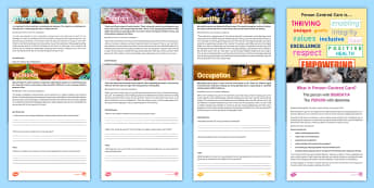 Person-Centred Care Training Resource Pack - English - Person Centred Care, Support, Activity Coordinators, Ideas, Elderly Care, Care Homes