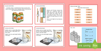 Year 5 Measurement Converting Measures Maths Mastery Challenge Cards - Year 5 Maths Mastery Activities, Year 5, Y5, mastery, maths, mathematics, measure, measurement, metr
