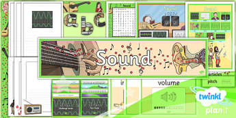 Science: Sound Year 4 Additional Resources
