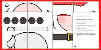 Ready Made Santa Door Display Pack - ready made, santa door, display pack, display, pack, santa, door, christmas