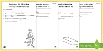 Northern Ireland Linguistic Phonics Stage 5 and 6, Phase 3a and 3b, 'oy' Dictation Sentences Activity - Linguistic Phonics, Stage 5, Stage 6, Phase 3a, Stage 3b, Northern Ireland, sentences, dictation, wo