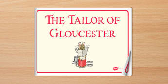 The Tailor of Gloucester eBook - tailor, gloucester, ebook, story